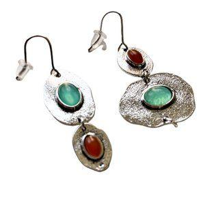 3/$30 Boho metal dangle asymmetrical earrings